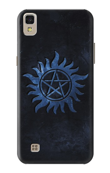Printed Supernatural Anti Possession Symbol LG F70 D315 Case