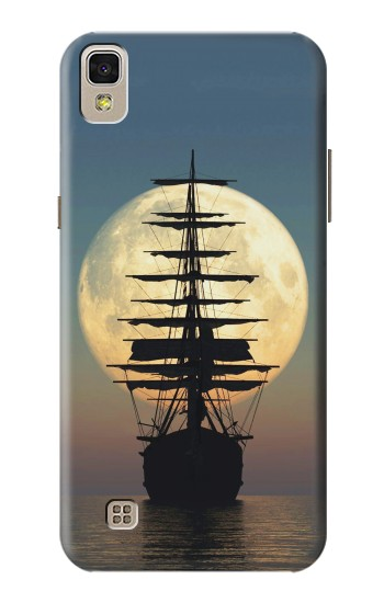 Printed Pirate Ship Moon Night LG F70 D315 Case