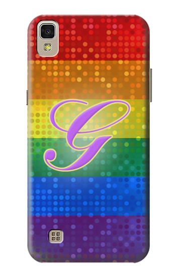 Printed Rainbow Gay Pride Flag Device LG F70 D315 Case