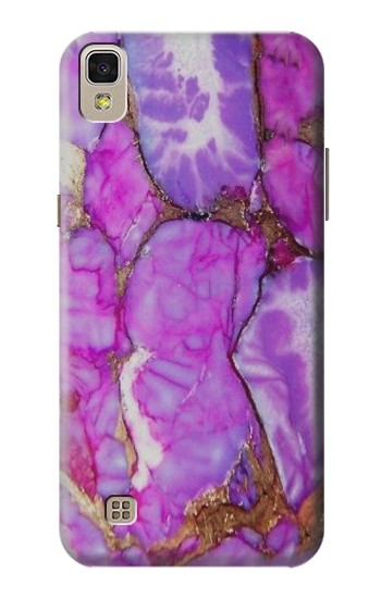 Printed Purple Turquoise Stone LG F70 D315 Case