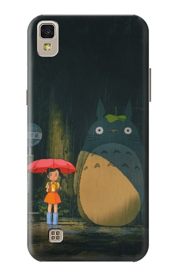 Printed Totoro Bus Stop LG F70 D315 Case