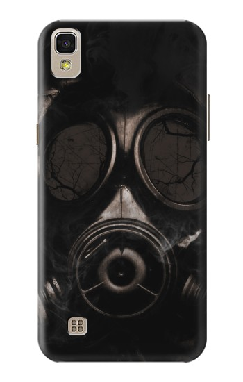 Printed Gas Mask LG F70 D315 Case