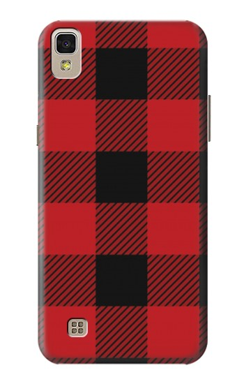 Printed Red Buffalo Check Pattern LG F70 D315 Case