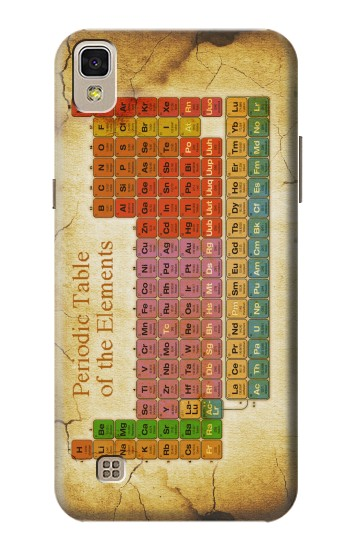 Printed Vintage Periodic Table of Elements LG F70 D315 Case