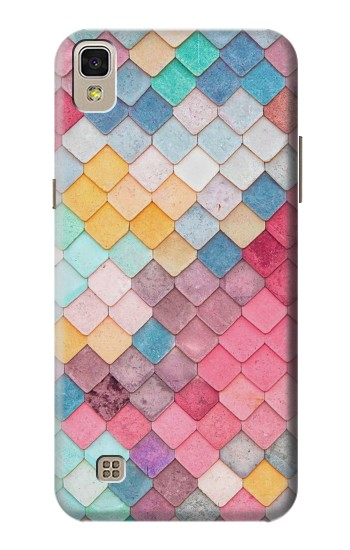 Printed Candy Minimal Pastel Colors LG F70 D315 Case