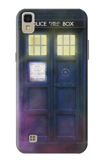 Printed Tardis Phone Box LG F70 D315 Case