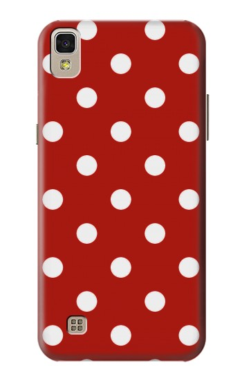 Printed Red Polka Dots LG F70 D315 Case