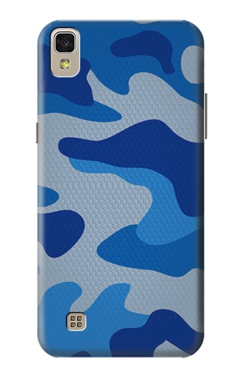 Printed Army Blue Camouflage LG F70 D315 Case