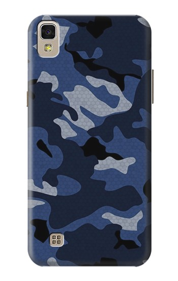 Printed Navy Blue Camouflage LG F70 D315 Case