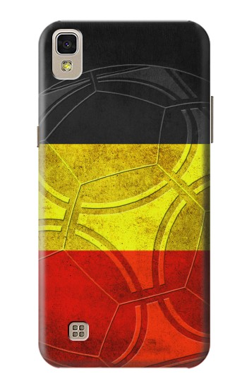 Printed Belgium Football Flag LG F70 D315 Case