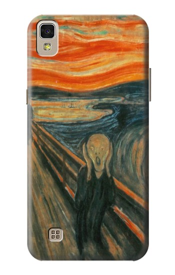 Printed Edvard Munch Scream Original Painting LG F70 D315 Case