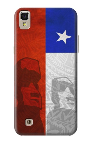 Printed Chile Polynesian Flag LG F70 D315 Case