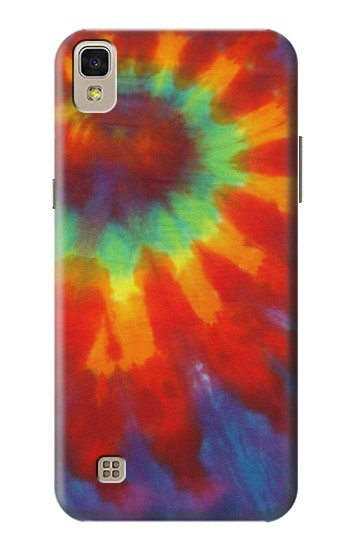 Printed Colorful Tie Dye Fabric Texture LG F70 D315 Case