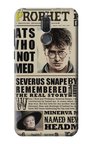 Printed Harry Potter Daily Prophet Huawei Mate 10 Lite Case