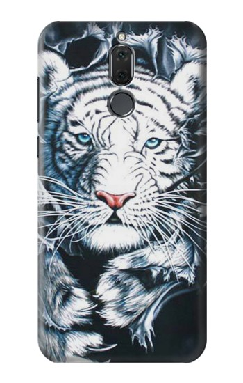 Printed White Tiger Huawei Mate 10 Lite Case