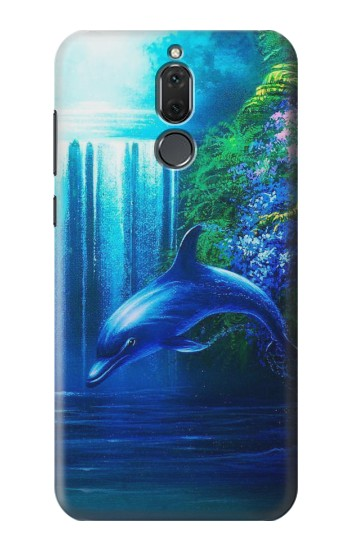 Printed Dolphin Huawei Mate 10 Lite Case