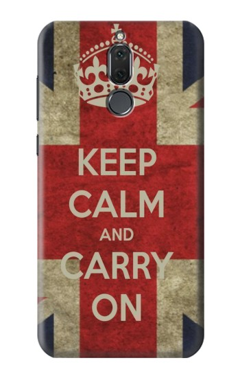 Printed Keep Calm and Carry On Huawei Mate 10 Lite Case
