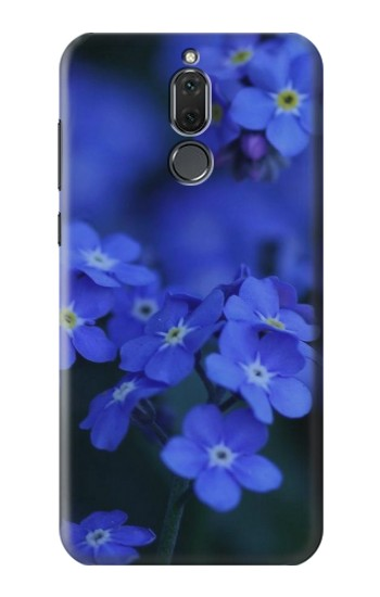 Printed Forget me not Huawei Mate 10 Lite Case