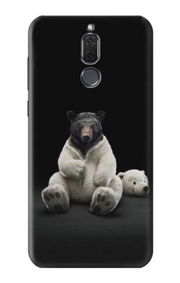 Printed Black Bear Huawei Mate 10 Lite Case