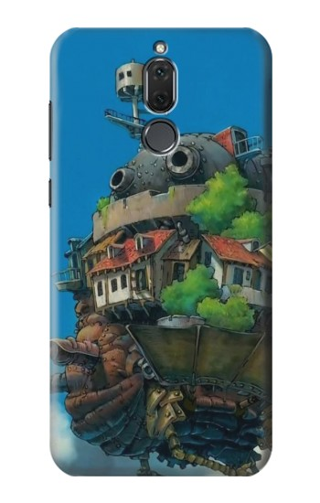Printed Howl Moving Castle Hauru no Ugoku Shiro Huawei Mate 10 Lite Case