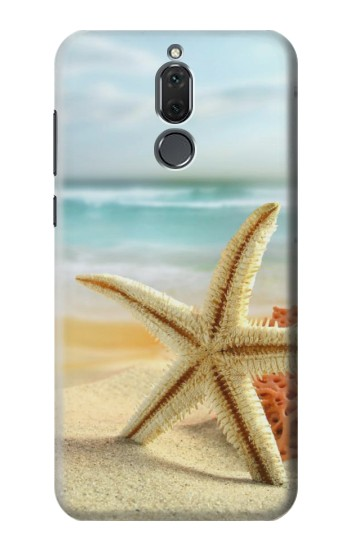 Printed Starfish on the Beach Huawei Mate 10 Lite Case