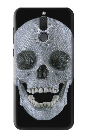 Printed Diamond Skull Huawei Mate 10 Lite Case