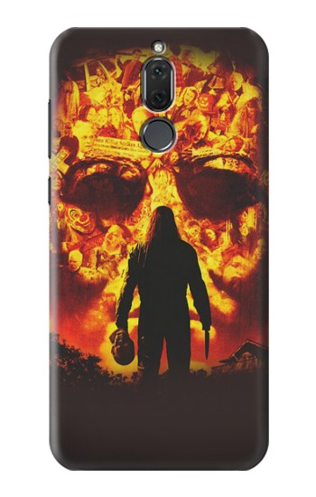 Printed Halloween Huawei Mate 10 Lite Case
