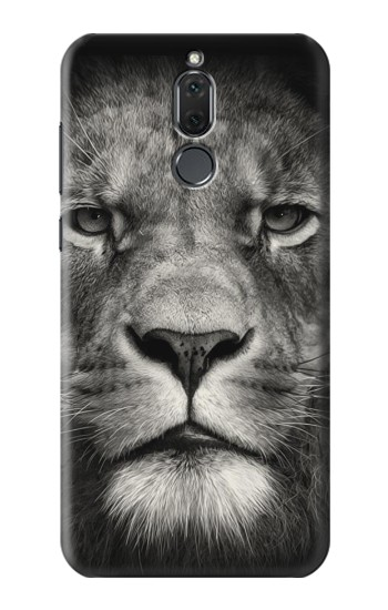 Printed Lion Face Huawei Mate 10 Lite Case