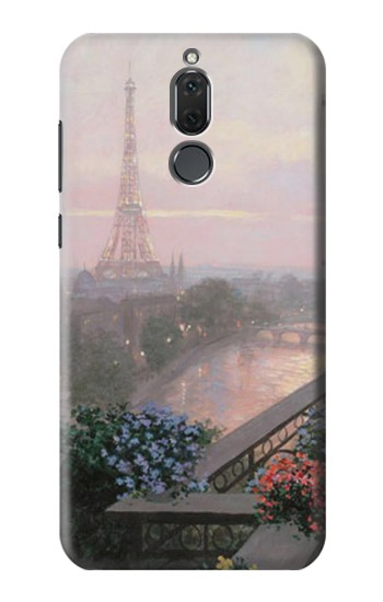 Printed Terrace in Paris Eifel Huawei Mate 10 Lite Case