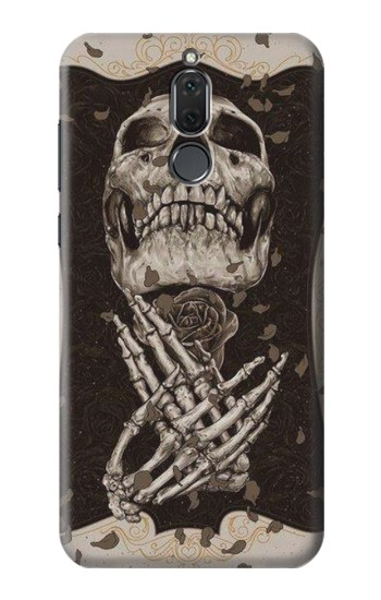 Printed Skull Rose Huawei Mate 10 Lite Case