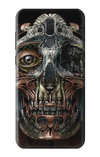 Printed Steampunk Skull Head Huawei Mate 10 Lite Case