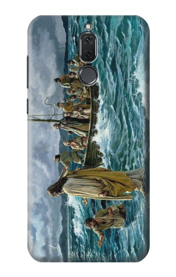 Printed Jesus Walk on The Sea Huawei Mate 10 Lite Case