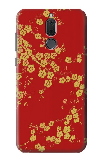 Printed Cherry Blossoms Chinese Silk Graphic Printed Huawei Mate 10 Lite Case