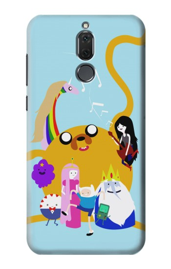 Printed Adventure Time Finn Jeck Marceline Bubblegum Huawei Mate 10 Lite Case