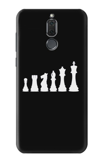 Printed Chess Pawn Rook Knight Bishop Queen King Huawei Mate 10 Lite Case