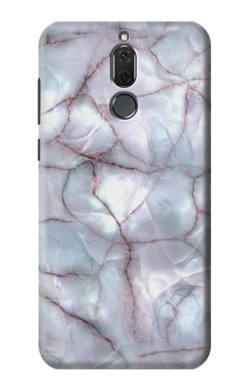 Printed Dark Blue Marble Texture Graphic Print Huawei Mate 10 Lite Case