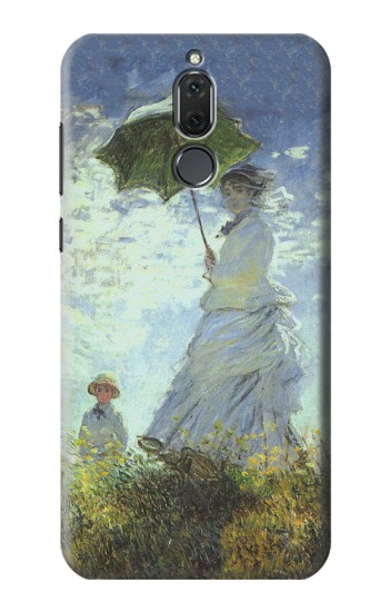 Printed Claude Monet Woman with a Parasol Huawei Mate 10 Lite Case