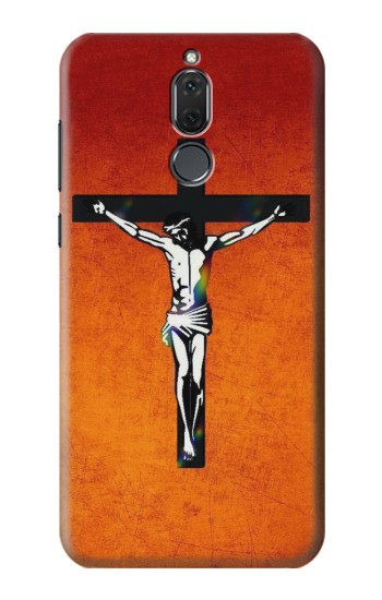 Printed Jesus Christ On The Cross Huawei Mate 10 Lite Case