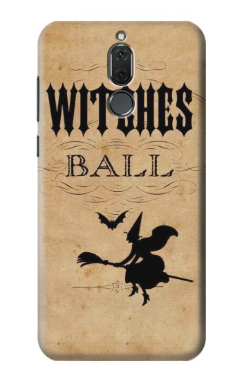 Printed Vintage Halloween The Witches Ball Huawei Mate 10 Lite Case