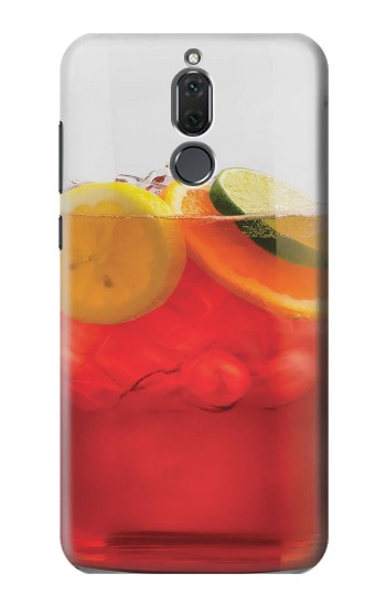 Printed Punch Cocktail Drink Fruit Glass Huawei Mate 10 Lite Case