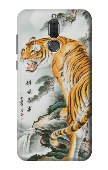 Printed Chinese Tiger Painting Tattoo Huawei Mate 10 Lite Case