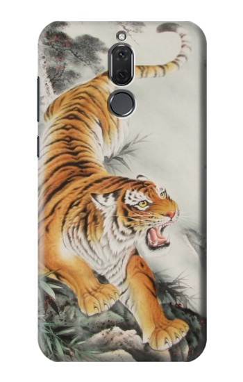 Printed Chinese Tiger Tattoo Painting Huawei Mate 10 Lite Case