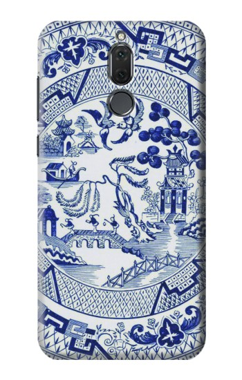 Printed Willow Pattern Illustration Huawei Mate 10 Lite Case