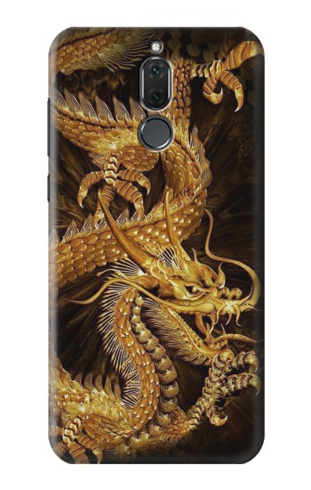 Printed Chinese Gold Dragon Printed Huawei Mate 10 Lite Case