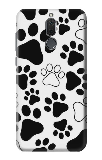 Printed Dog Paw Prints Huawei Mate 10 Lite Case