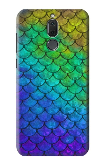 Printed Mermaid Fish Scale Huawei Mate 10 Lite Case