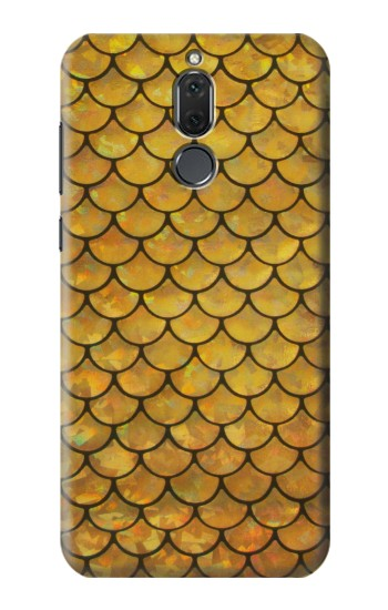 Printed Gold Fish Scale Huawei Mate 10 Lite Case