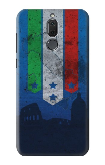 Printed Italy Football Flag Huawei Mate 10 Lite Case