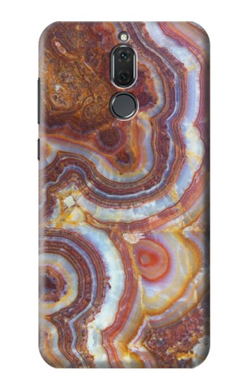 Printed Colored Marble Texture Printed Huawei Mate 10 Lite Case