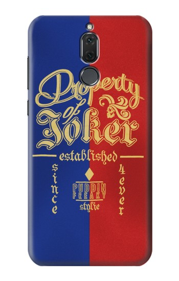 Printed Property of Joker Puddin Freaky Style Huawei Mate 10 Lite Case